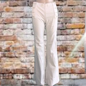 NWT Free People sailor pants with button closure